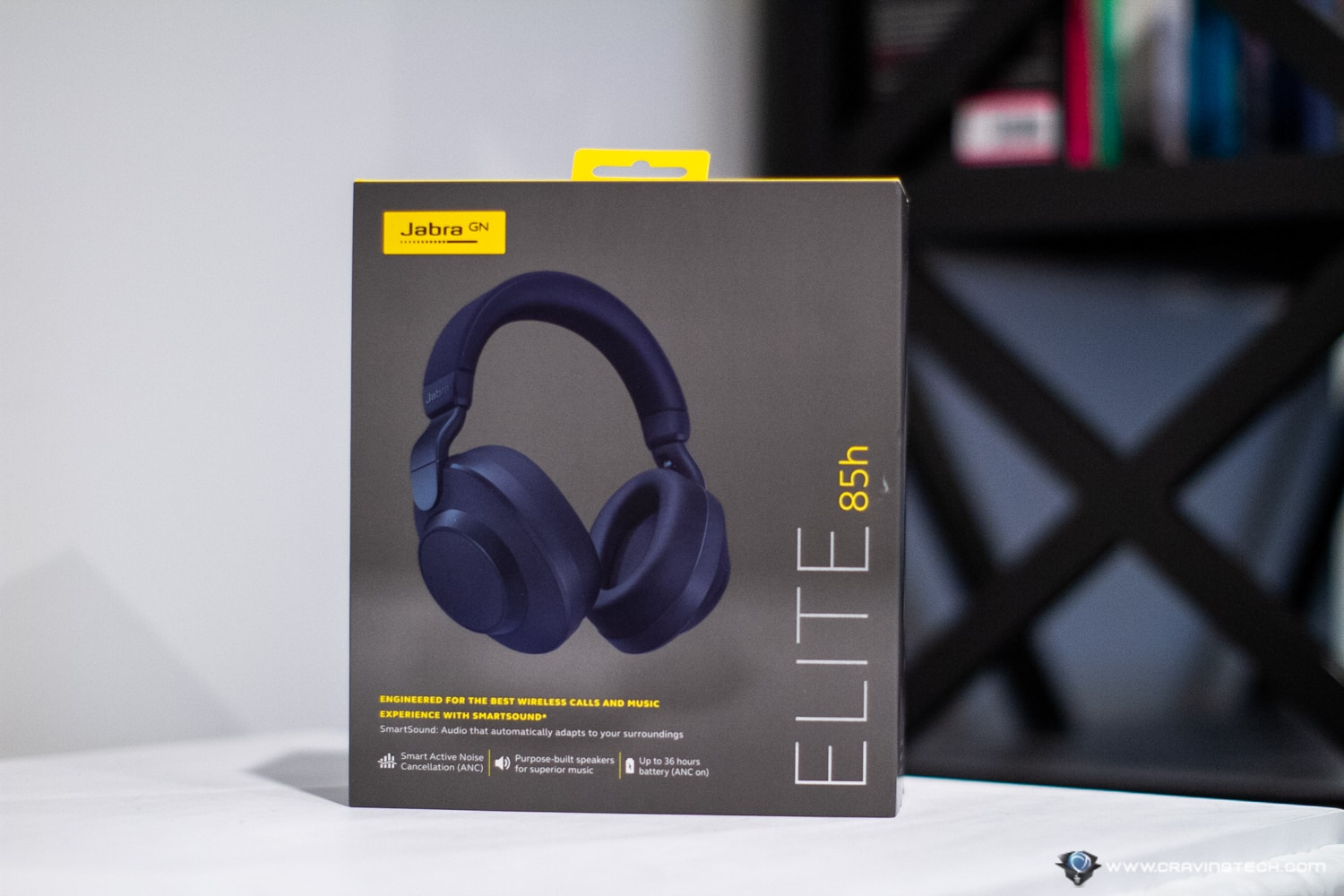 Jabra Elite 85h Packaging