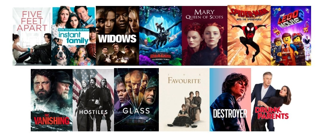 Rent movies from Apple TV, Google Play, PlayStation Store