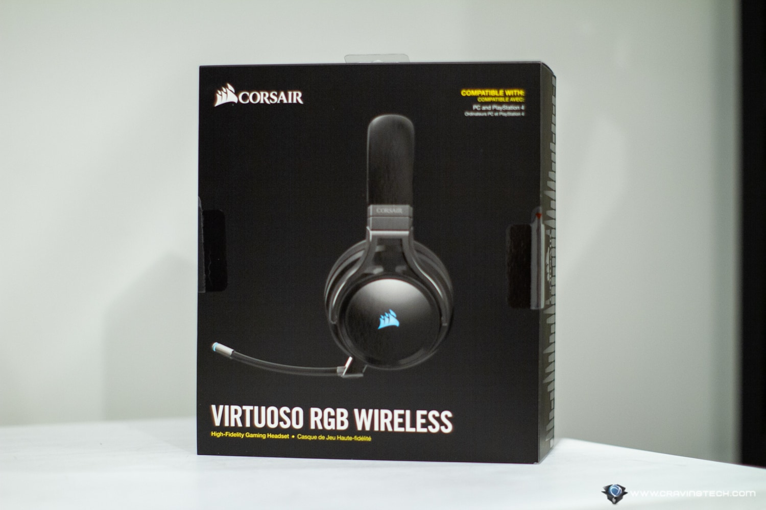 CORSAIR VIRTUOSO Packaging