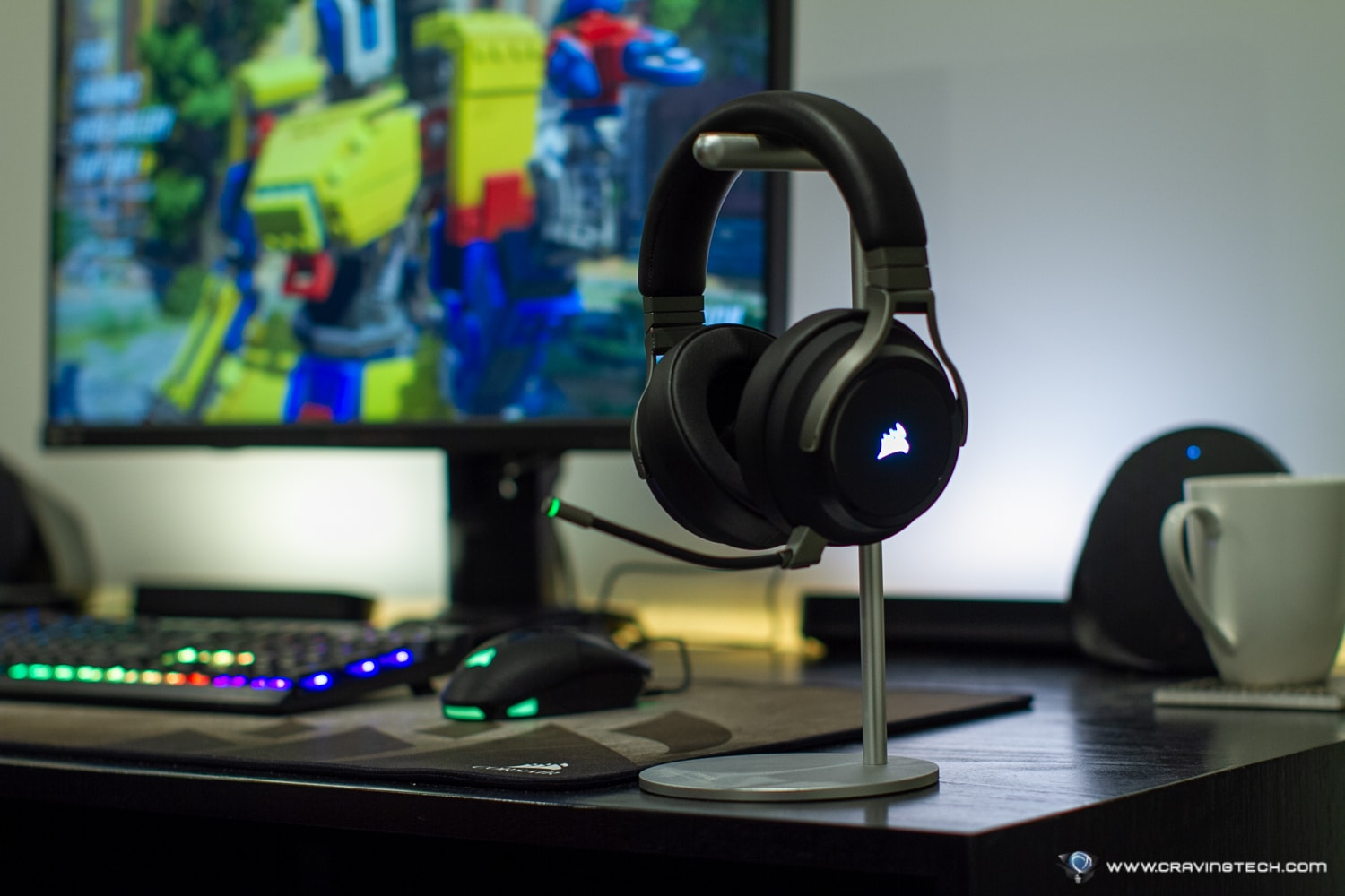 Wireless gaming headset with Hi- Res 24bit/96kHz audio – CORSAIR VIRTUOSO Review