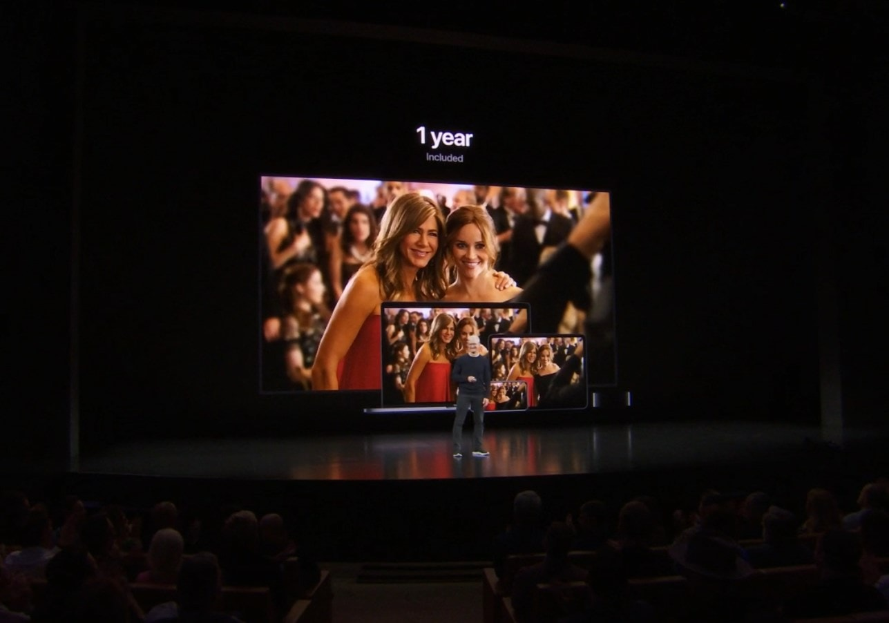 Is Apple TV+ movie subscription service FREE for life to Apple fans?