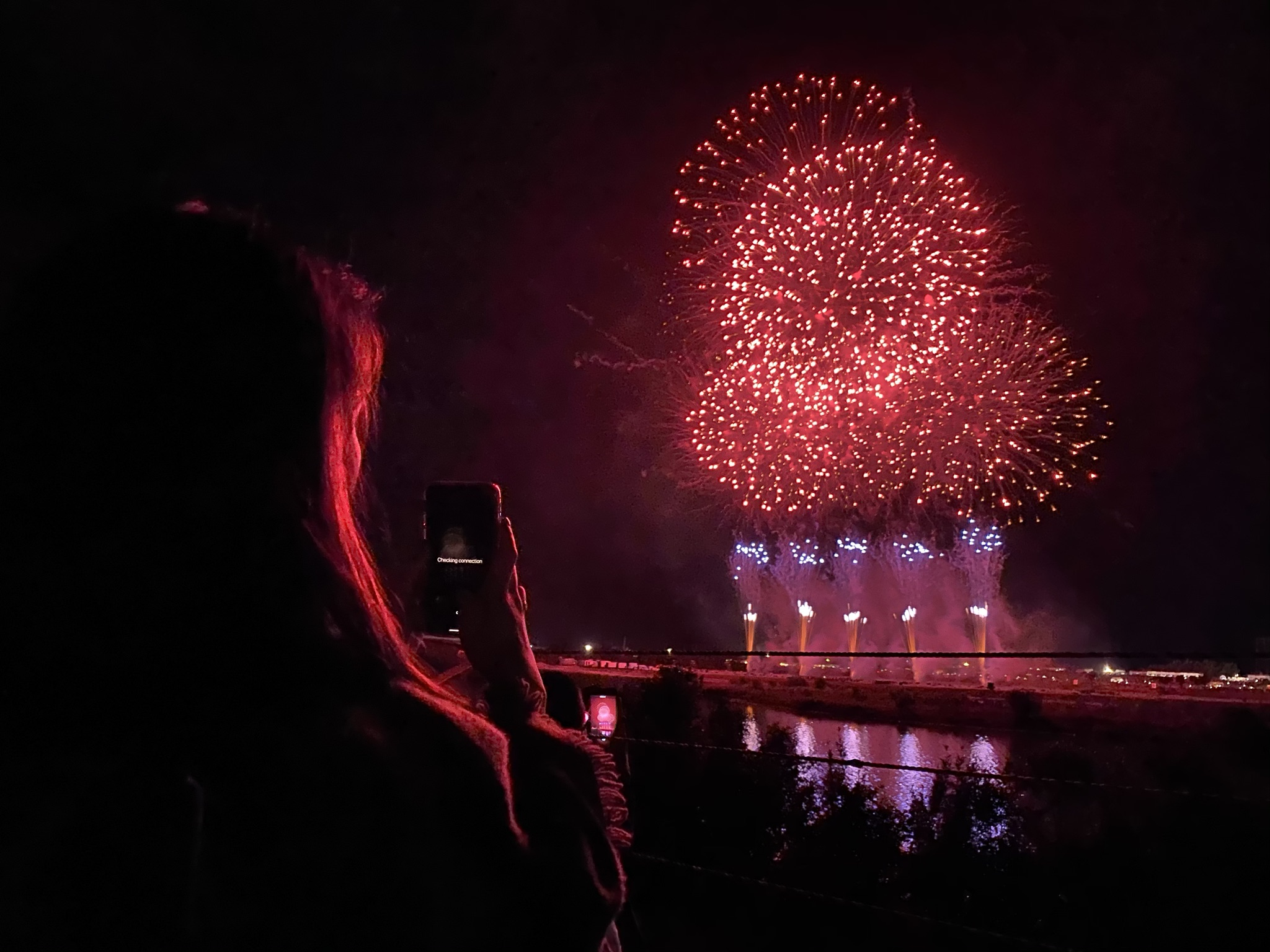 Fireworks photos with the iPhone 11 Pro Max