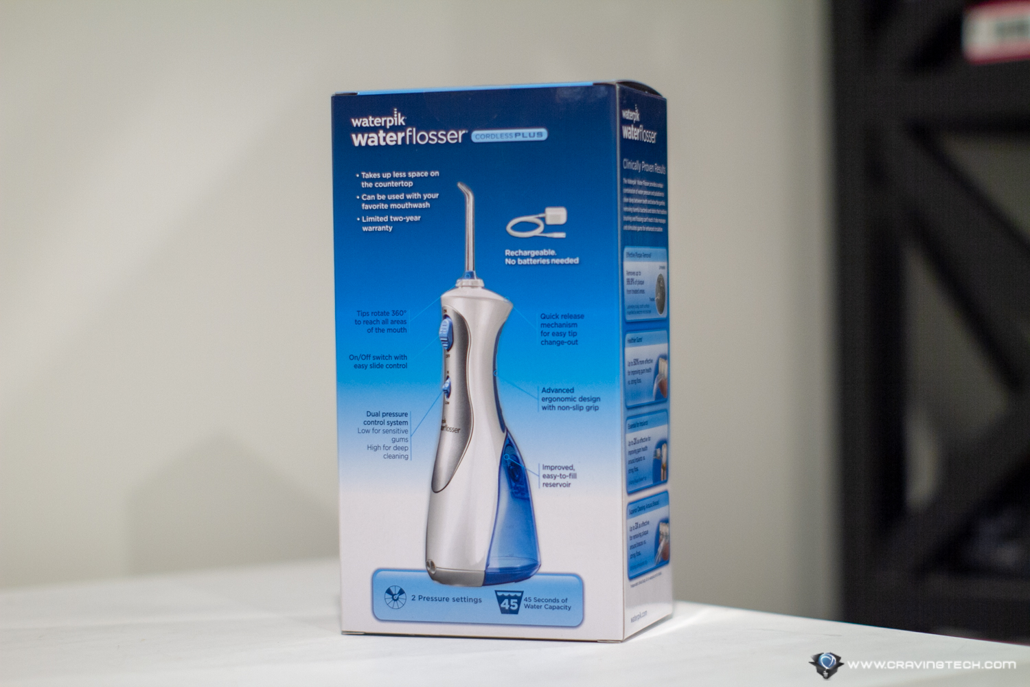 Waterpik Cordless Plus Packaging