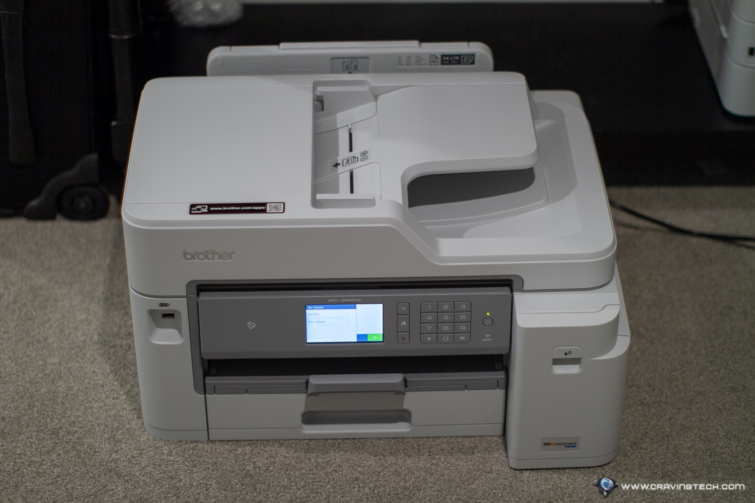 Brother MFC-J5845DW MFC Printer Review