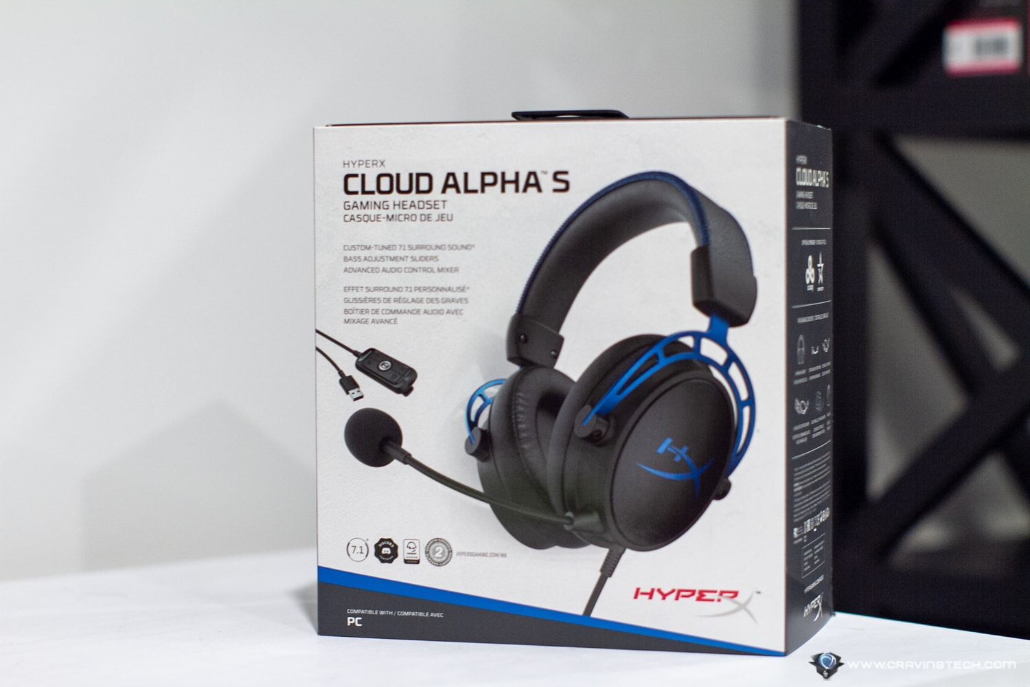 HyperX Cloud Alpha S Packaging & Unboxing
