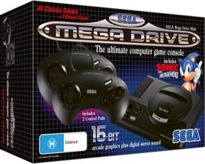 Reminiscing the past with SEGA Mega Drive mini console