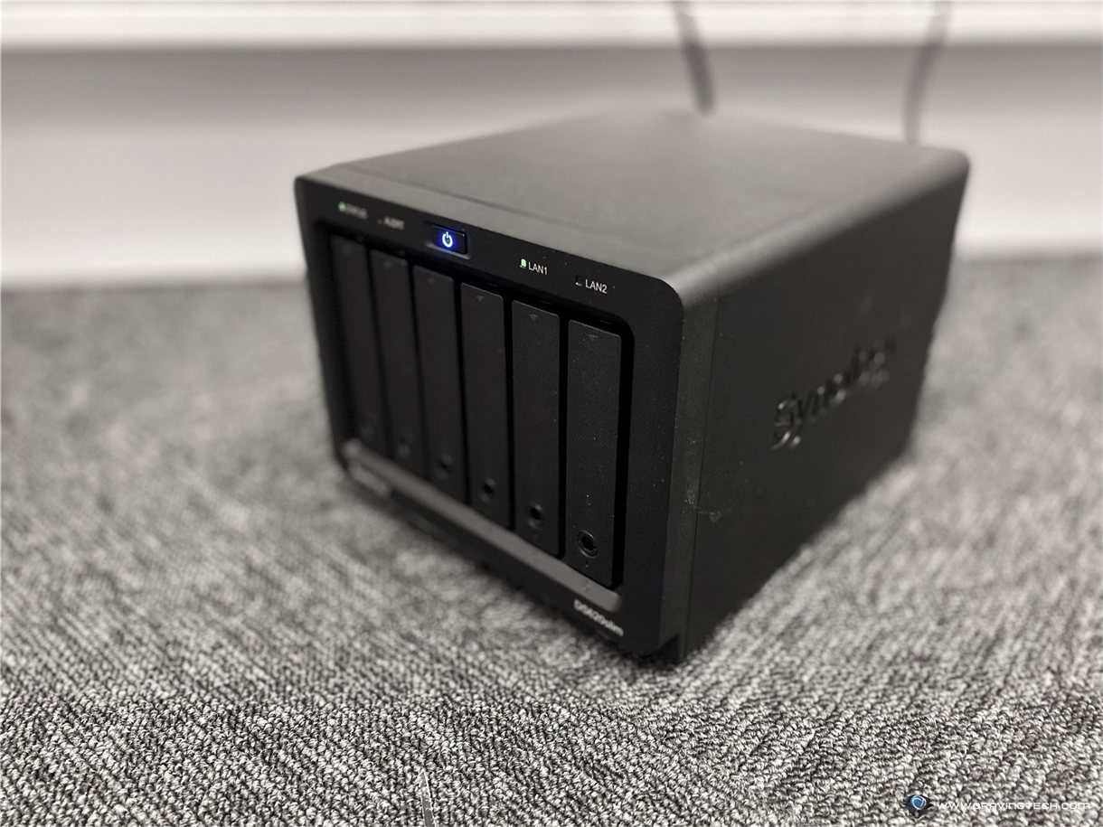Synology DiskStation DS620slim NAS Review