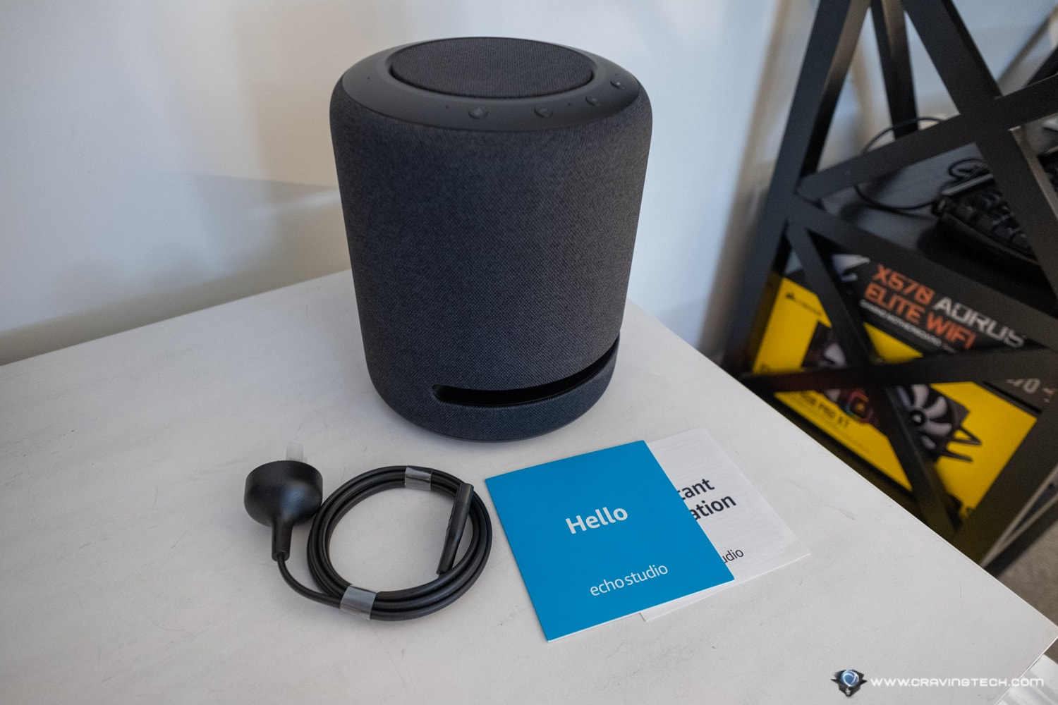 Amazon Echo Studio Unboxing