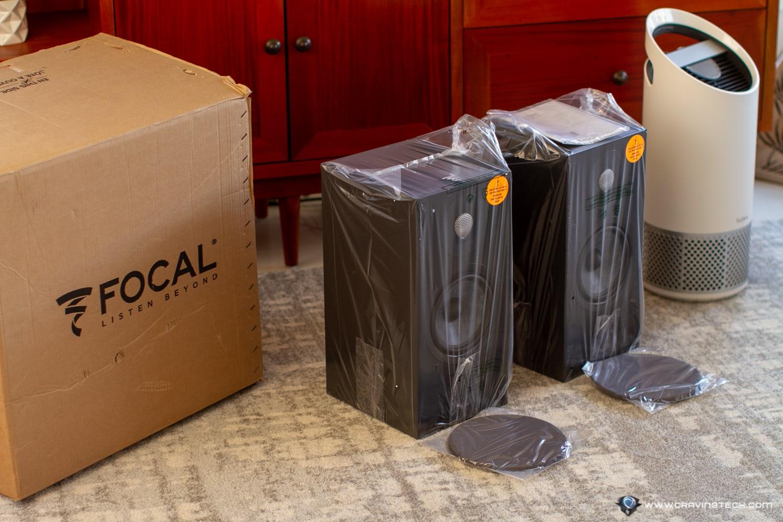 Focal Chora 806 Packaging