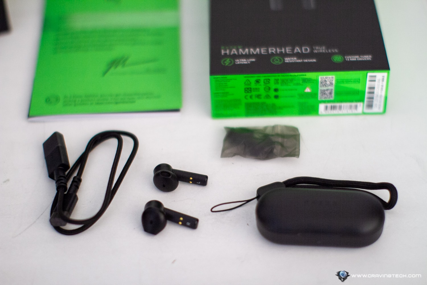 Razer Hammerhead True Wireless Earbuds Review Lag Free Gaming