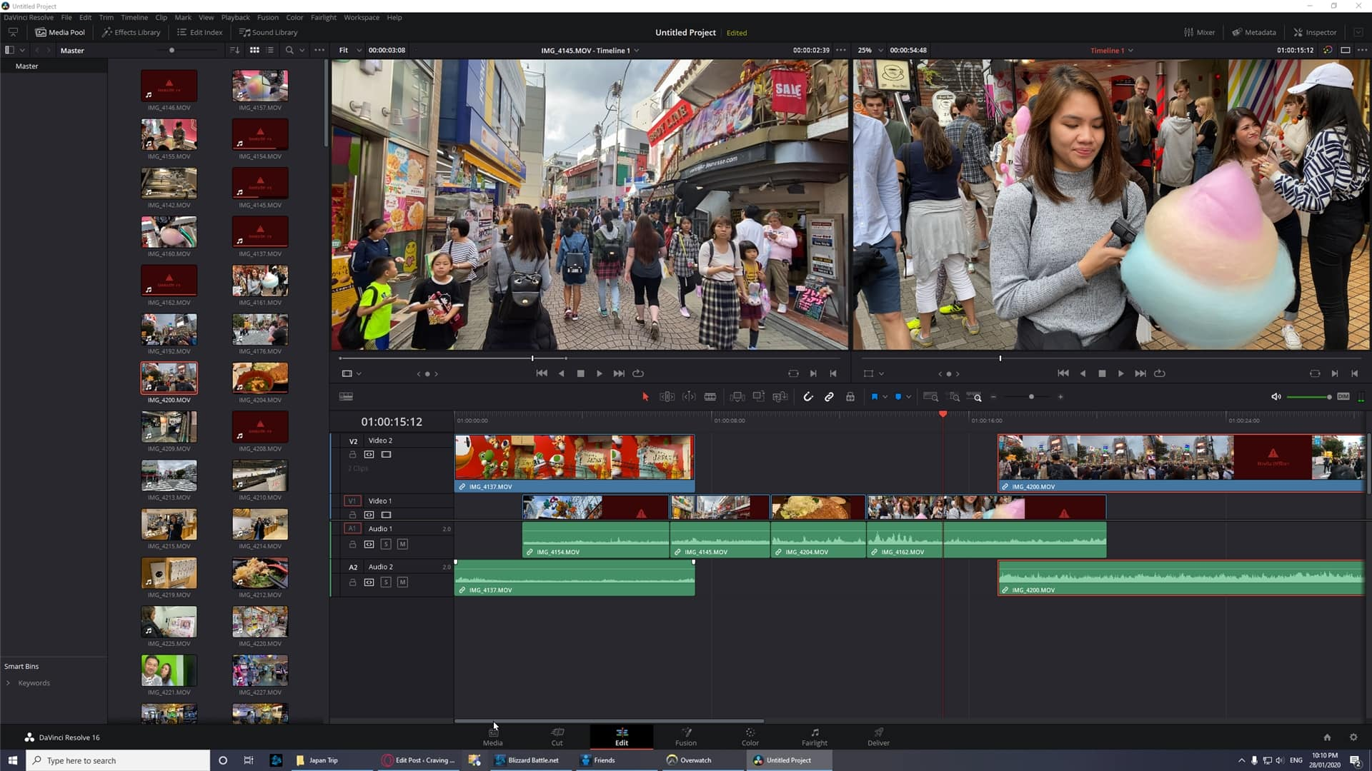 4K Video Editing DaVinci Resolve