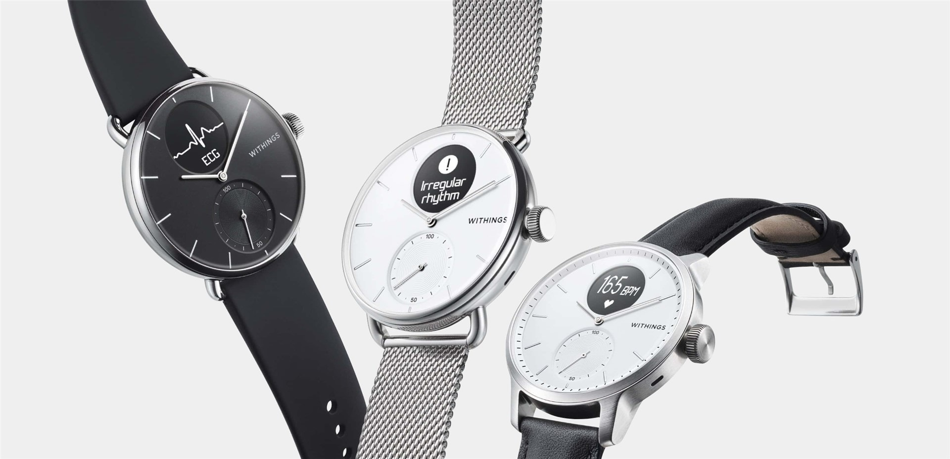 First smartwatch with medical-grade Electrocardiogram and Sleep Apnea detection from Withings