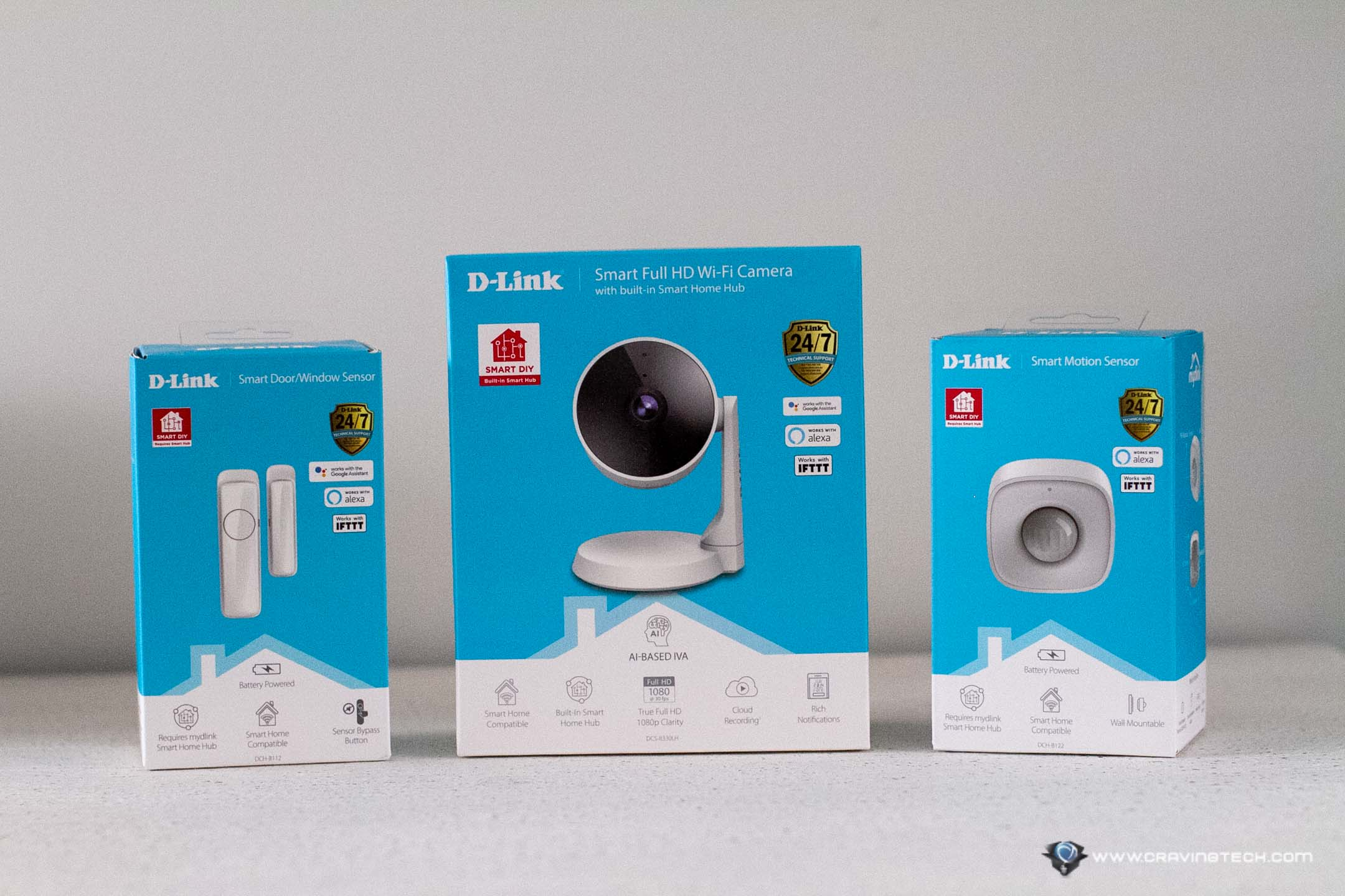 D-Link Smart DIY Security Kit Unboxing