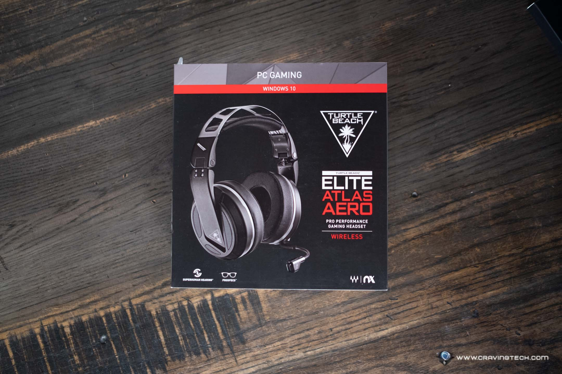 Turtle Beach Elite Atlas Aero Packaging