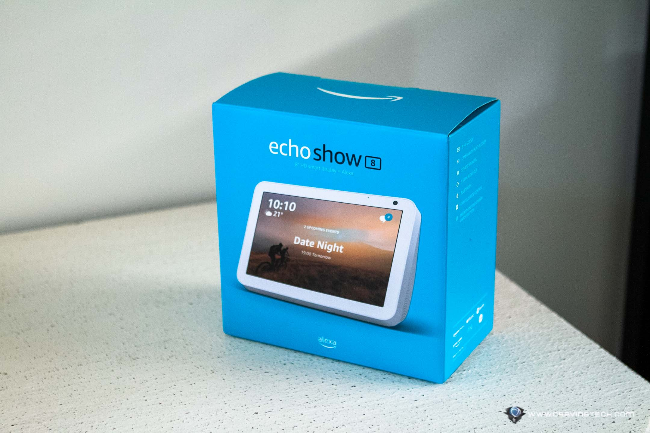 Amazon Echo Show 8 Packaging