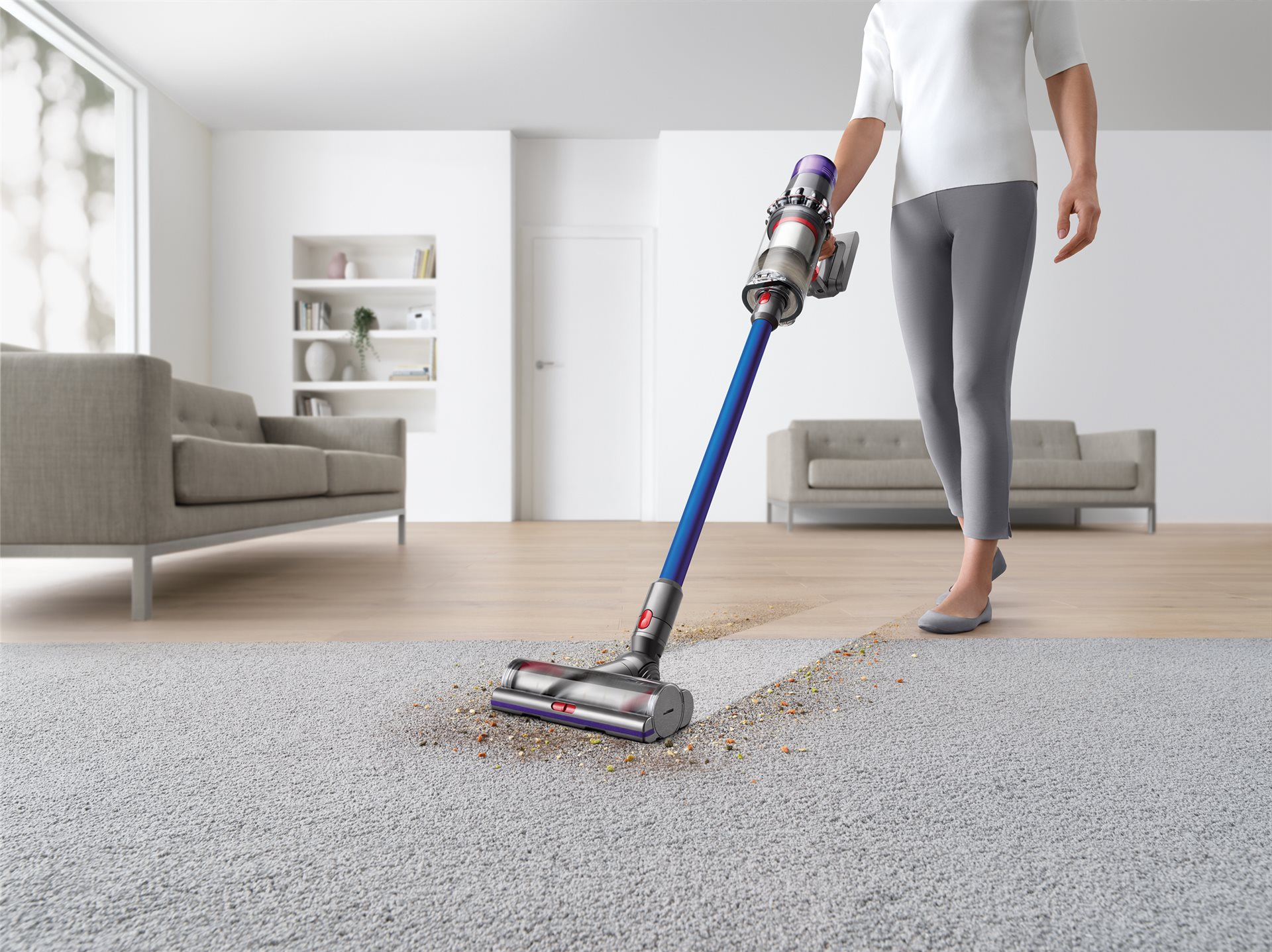 Have a bigger home to vacuum? Dyson's got you covered