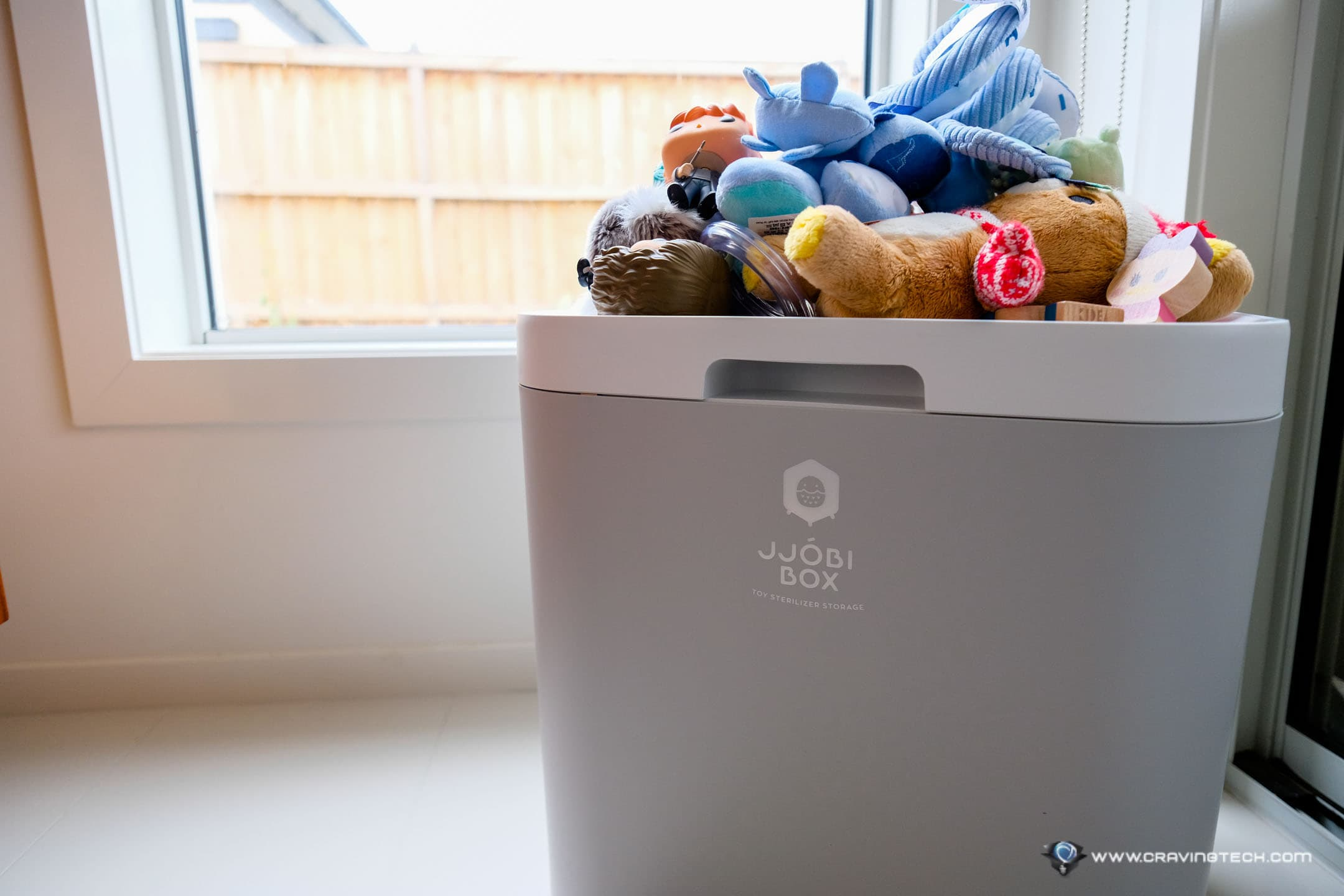 This handy storage box stores & sterilises your stuffs at home  – JJOBI Toy Steriliser BOX Review