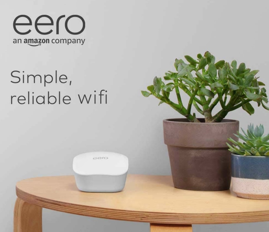 Amazon introduces their mesh Wi-Fi System, the eero, to Australia