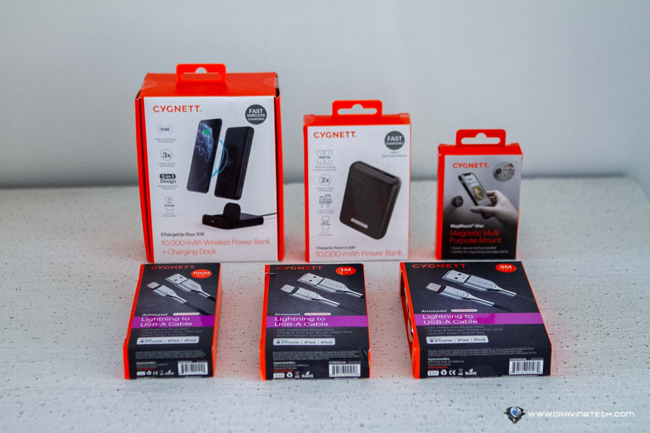 Power up your iPhone with these Cygnett accessories