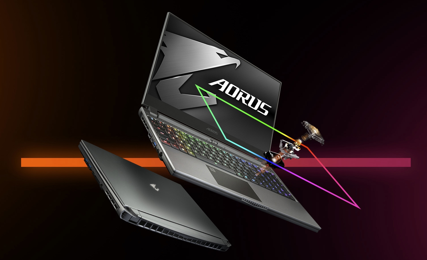 The AORUS is GIGABYTE's latest gaming laptop that doesn't take any compromise