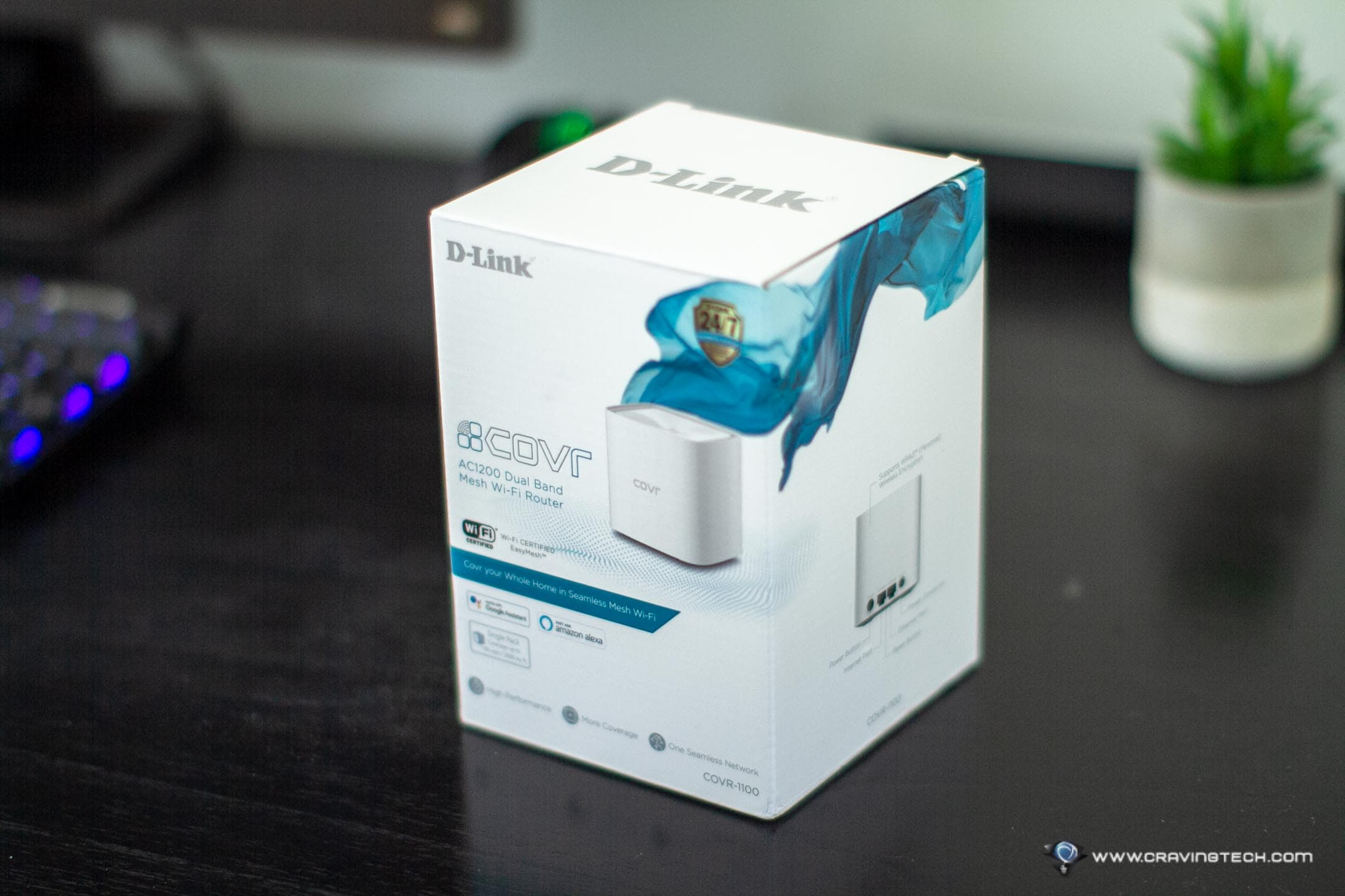 Extending your Mesh Network with D-Link COVR-1100