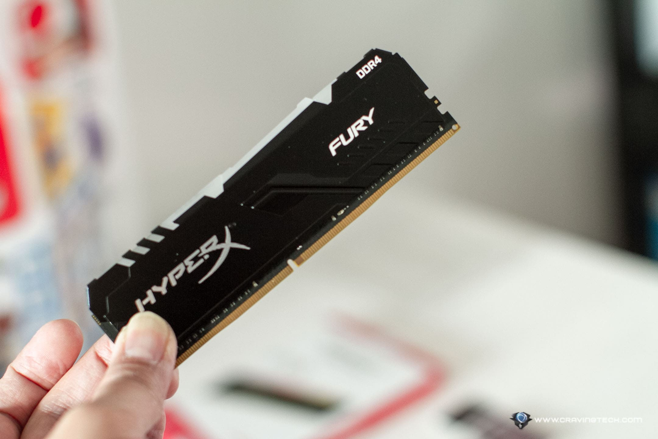Kingston HyperX FURY DDR4 RGB at 3,600MHz optimised for your AMD Ryzen build