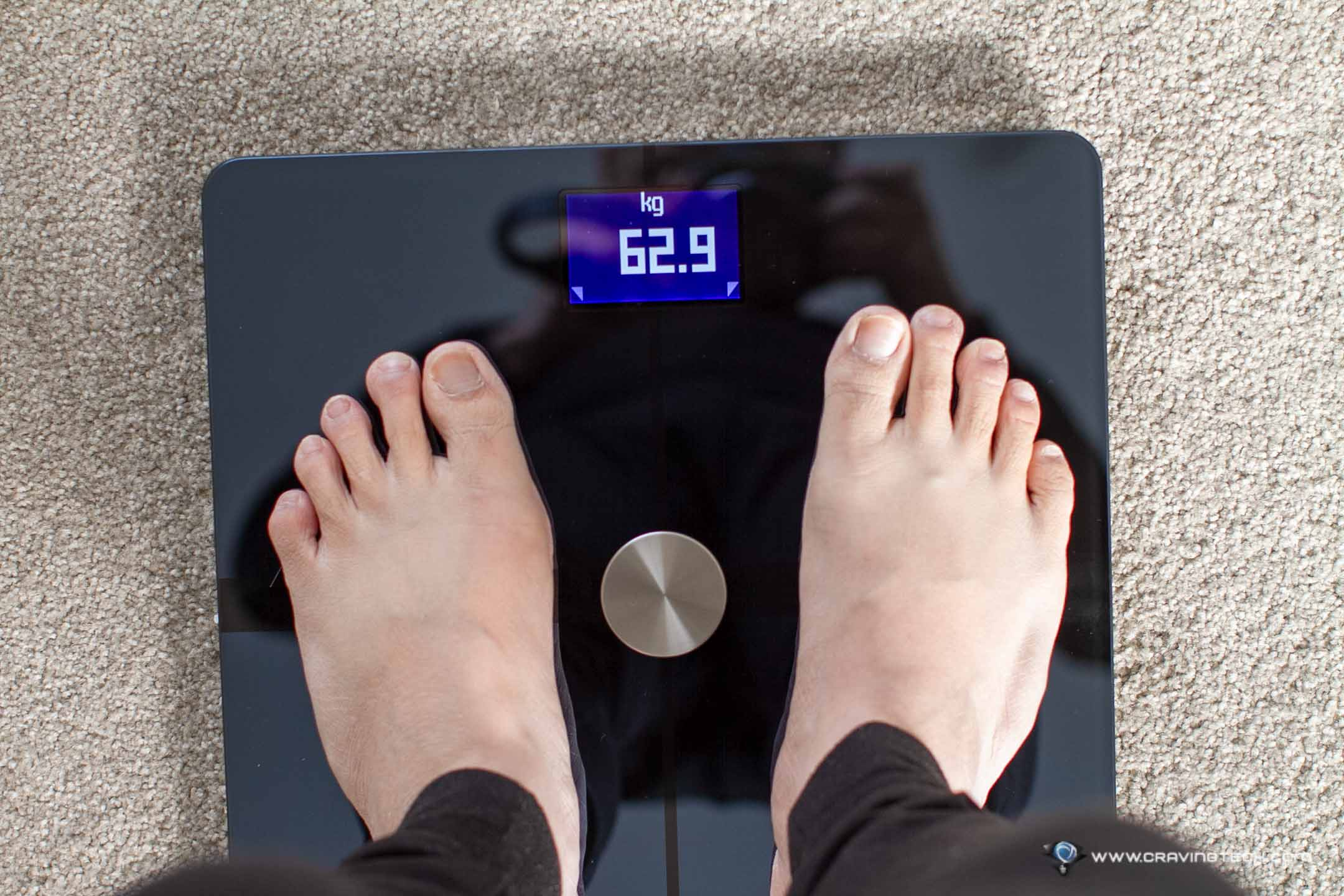 A smart scale that doesn't just measure your body weight – Withings Body+ Review