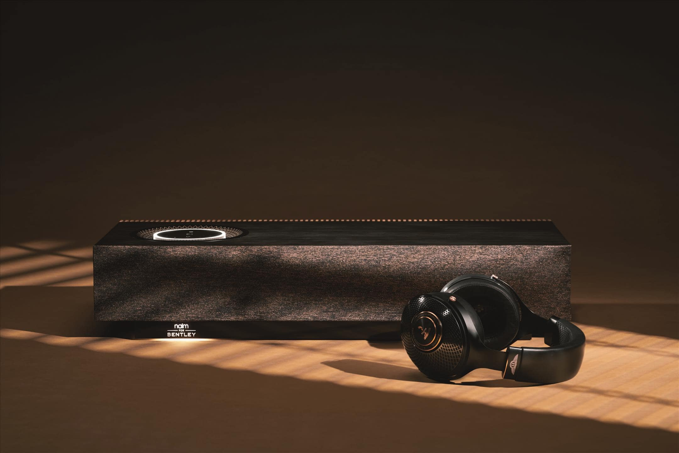 When Bentley gets together with two premium, audiophile brands