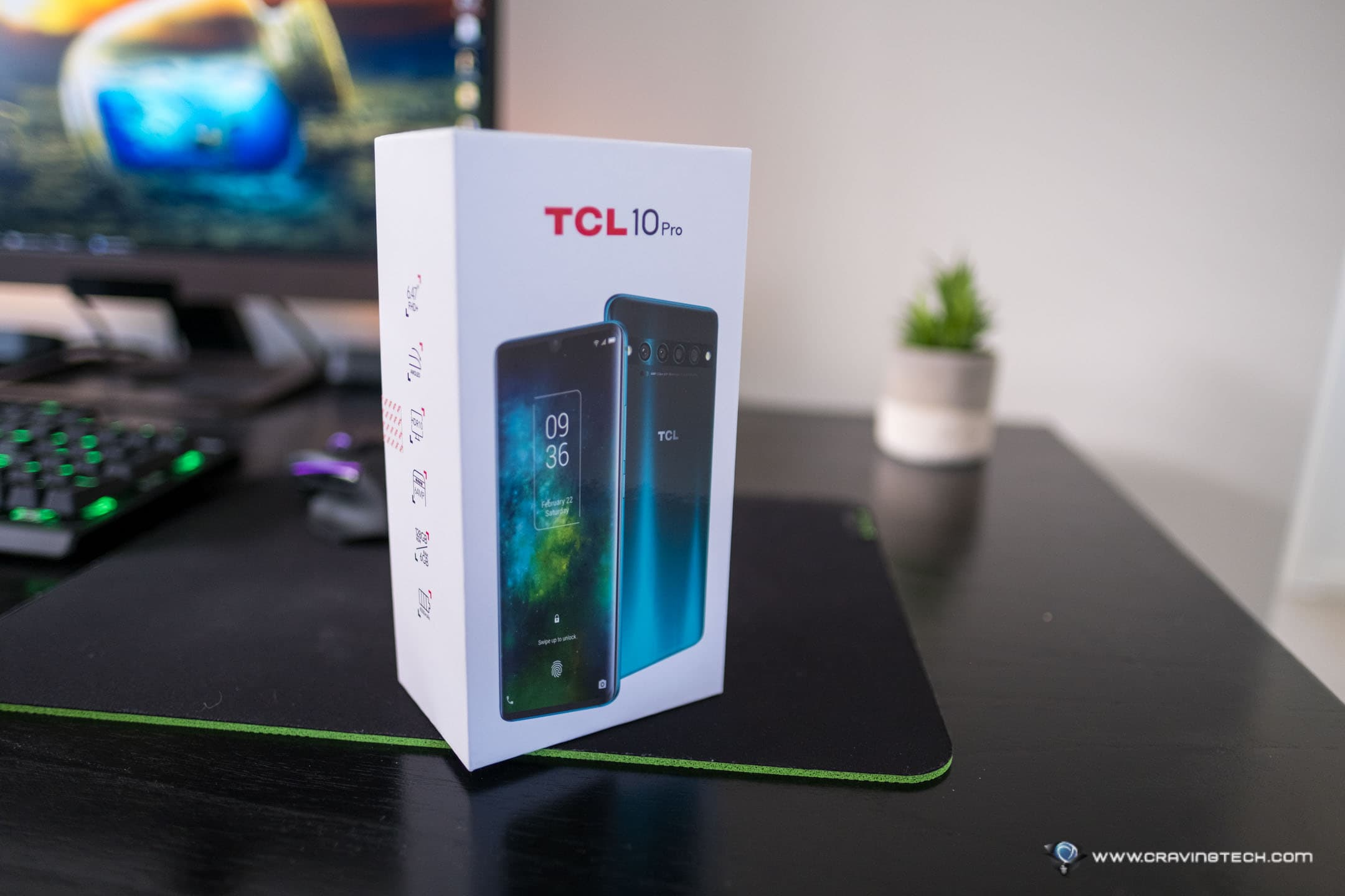 TCL 10 Pro (valued at $749) Smartphone Giveaway!