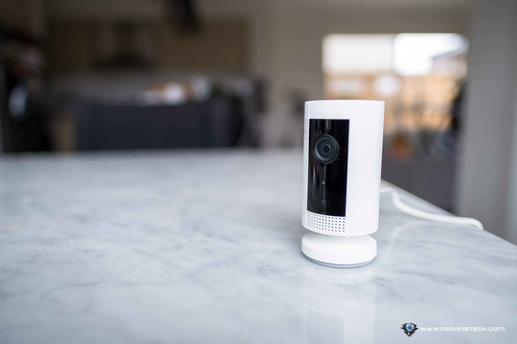 Ring Indoor Cam is Ring's most compact and affordable, indoor security camera