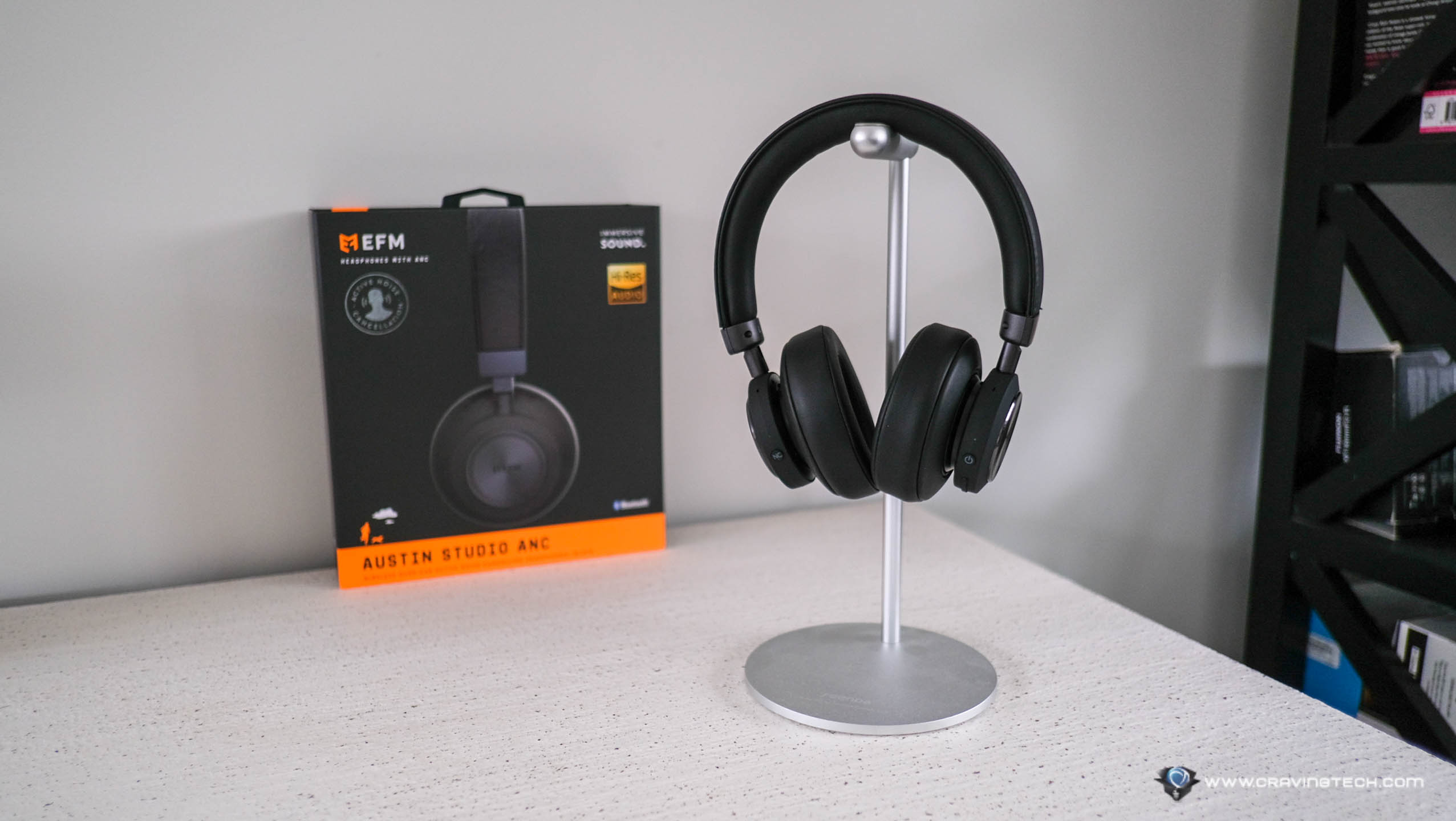 EFM Austin Studio ANC with Hi-Res certification Headphones Review