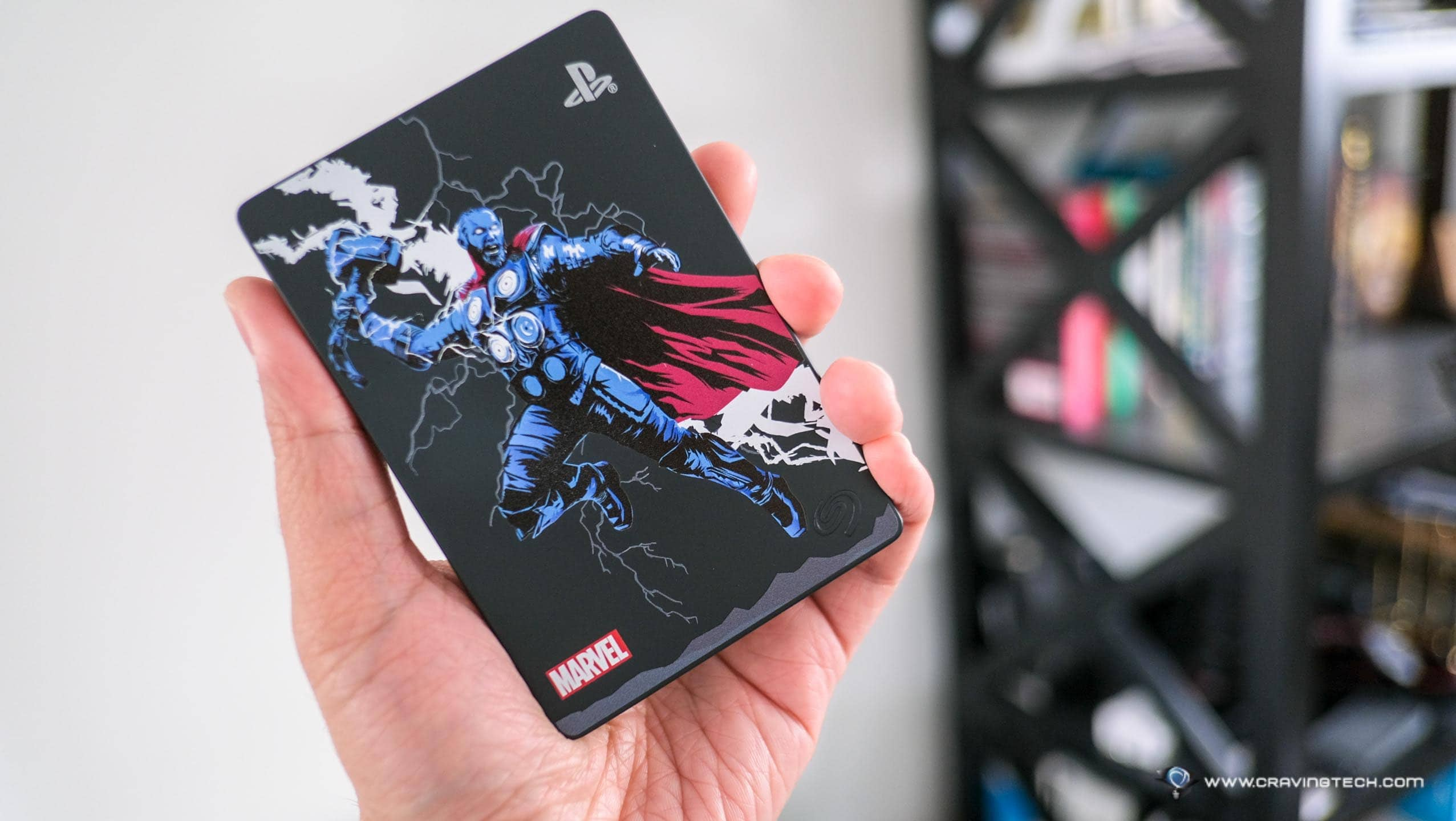Expand your PS4 storage with this Seagate Game Drive for PS4 Marvel Avengers Limited Edition
