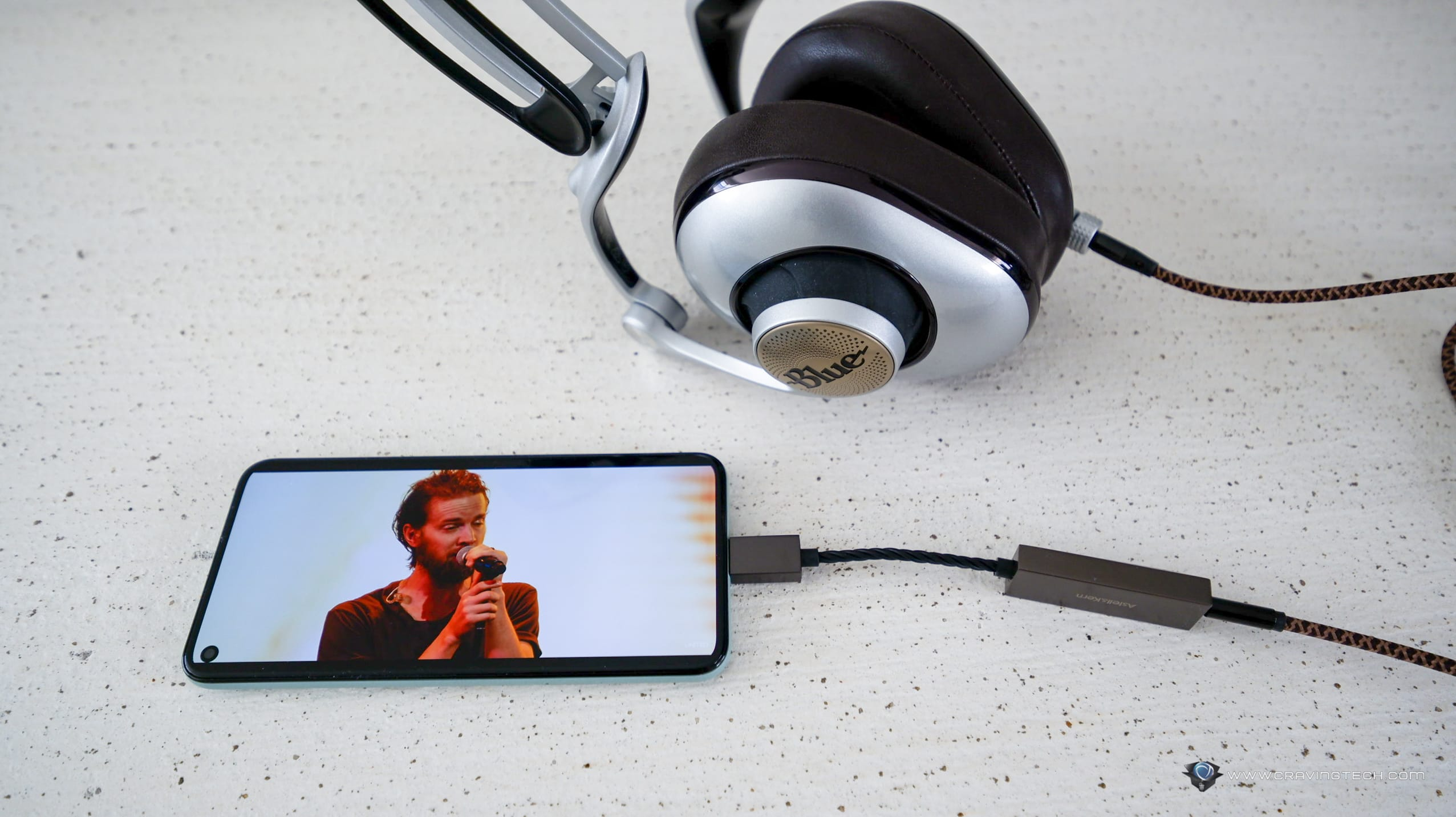 Upgrade your smartphone's audio to the next level with Astell&Kern USB-C Dual DAC Cable