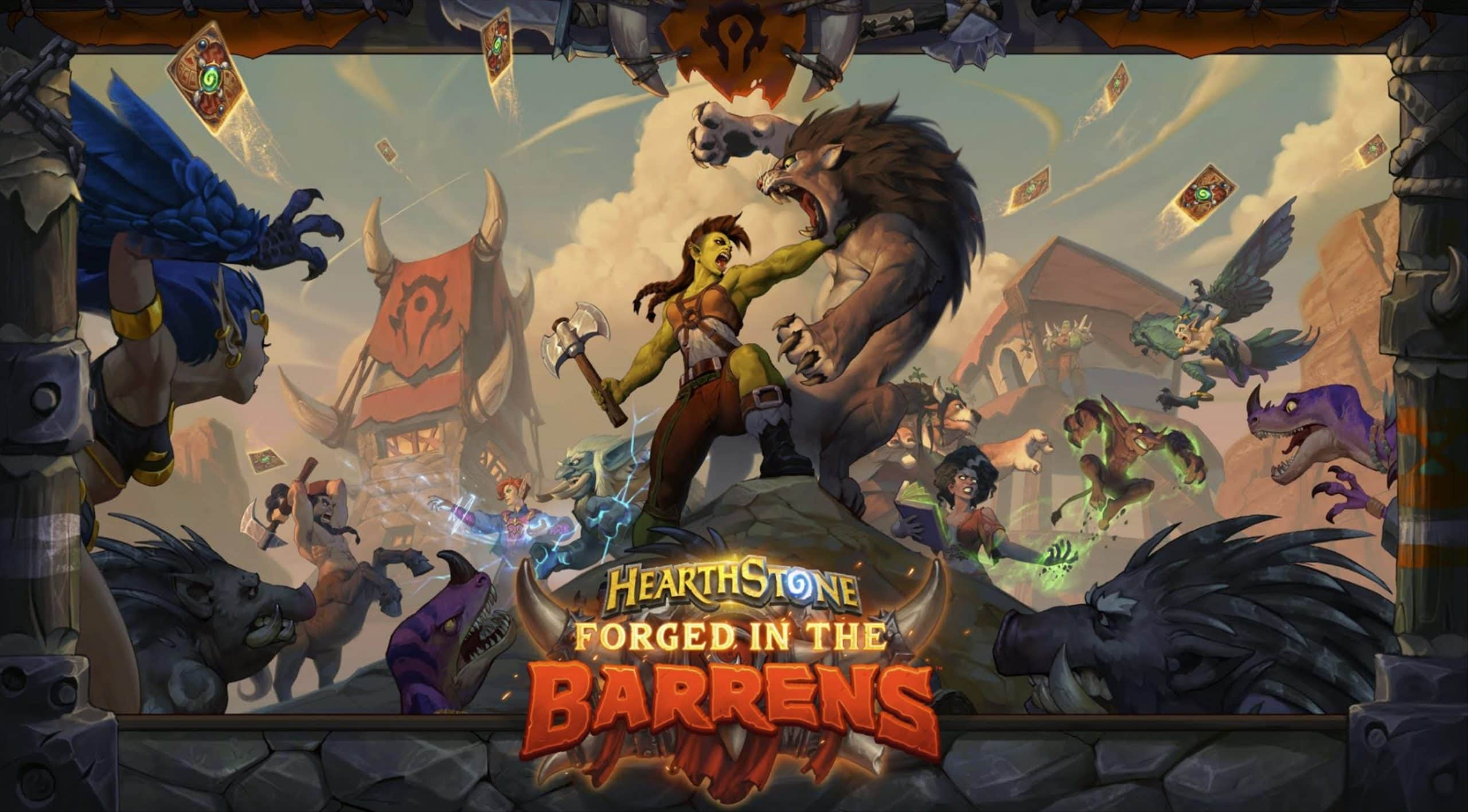 Hearthstone's latest Forged in the Barrens expansion shakes the meta greatly