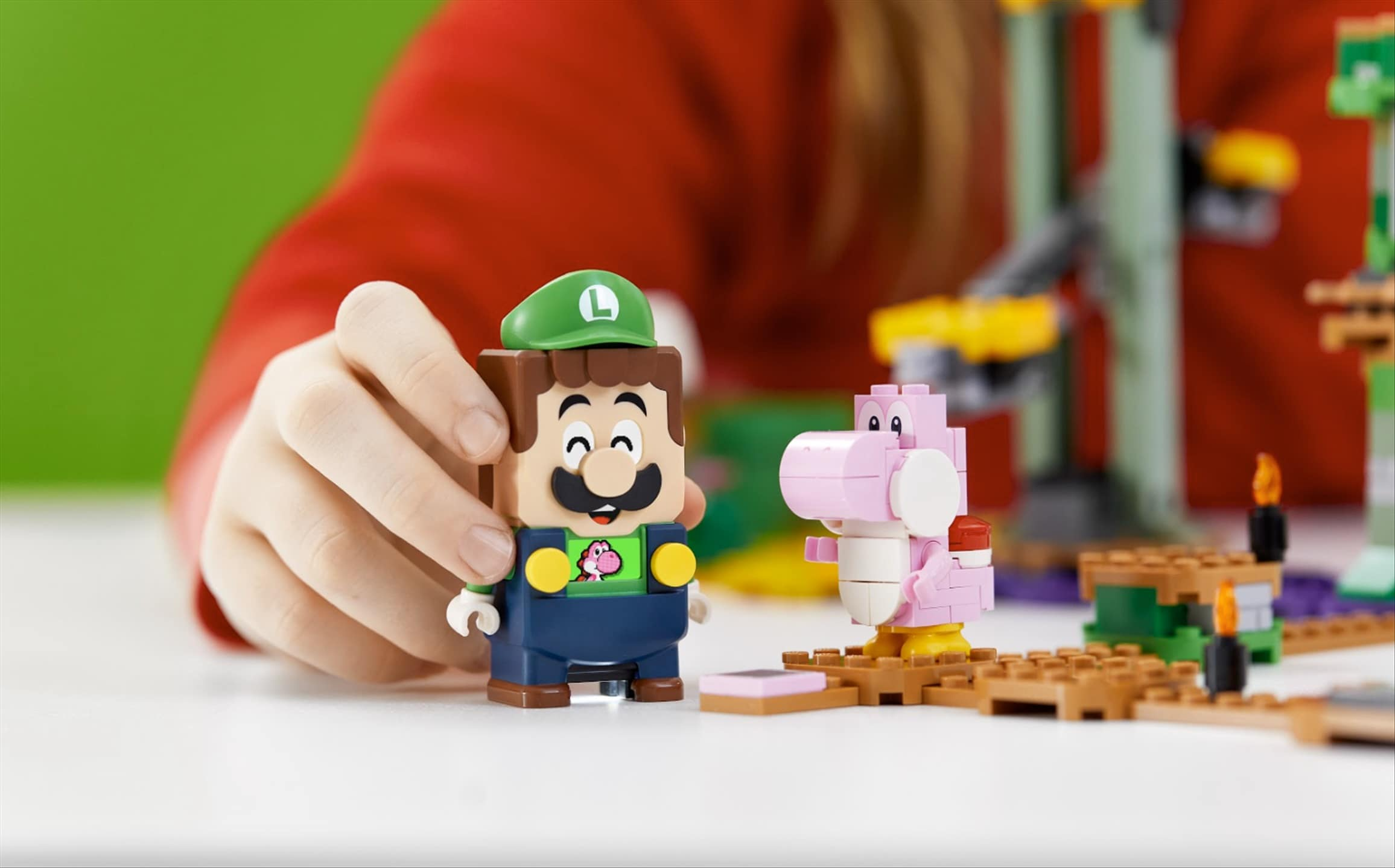 Luigi is joining LEGO Super Mario