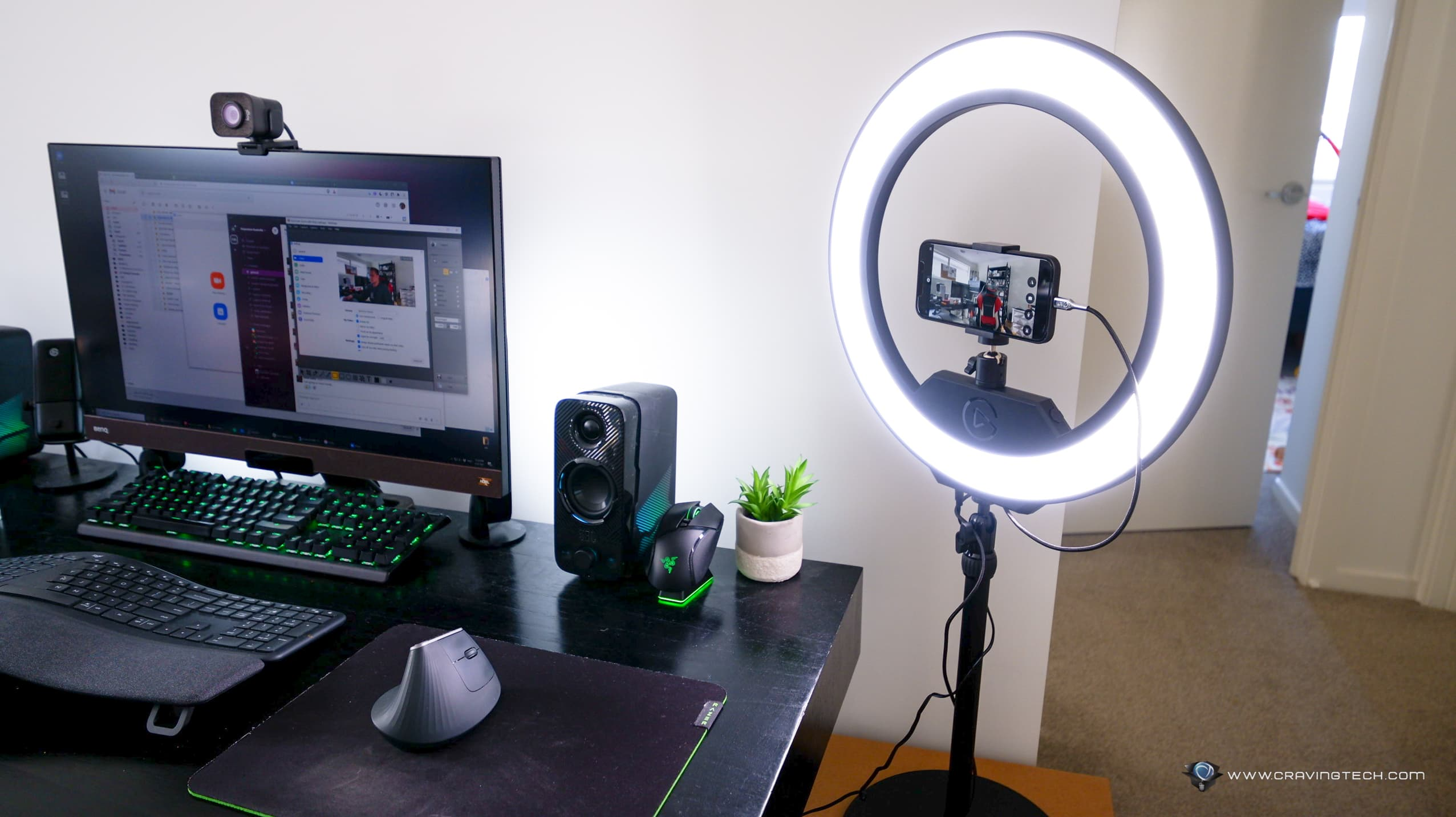 How to use your phone as a webcam easily with EpocCam