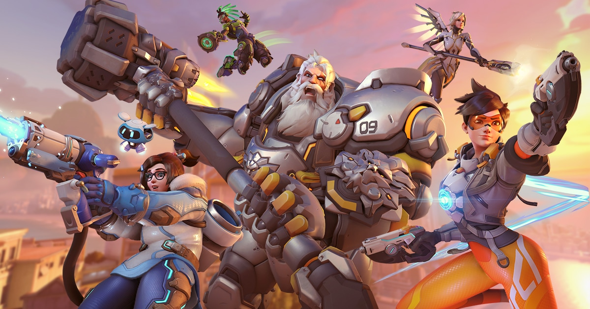 First look of Overwatch 2 PvP Gameplay
