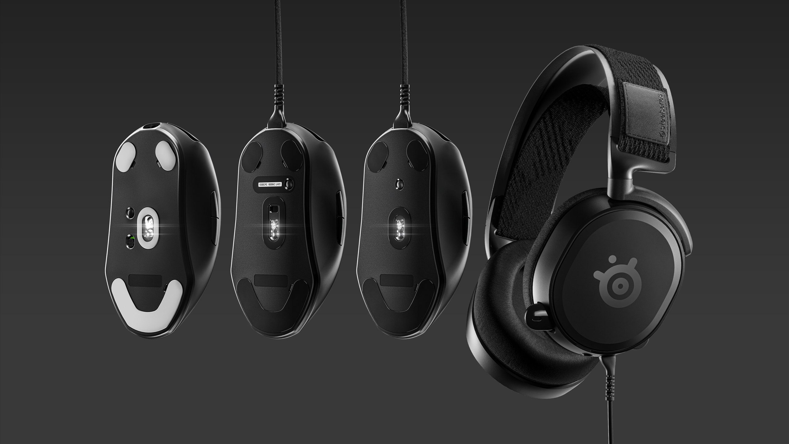 SteelSeries introduces new gaming peripherals designed for the esports and pros