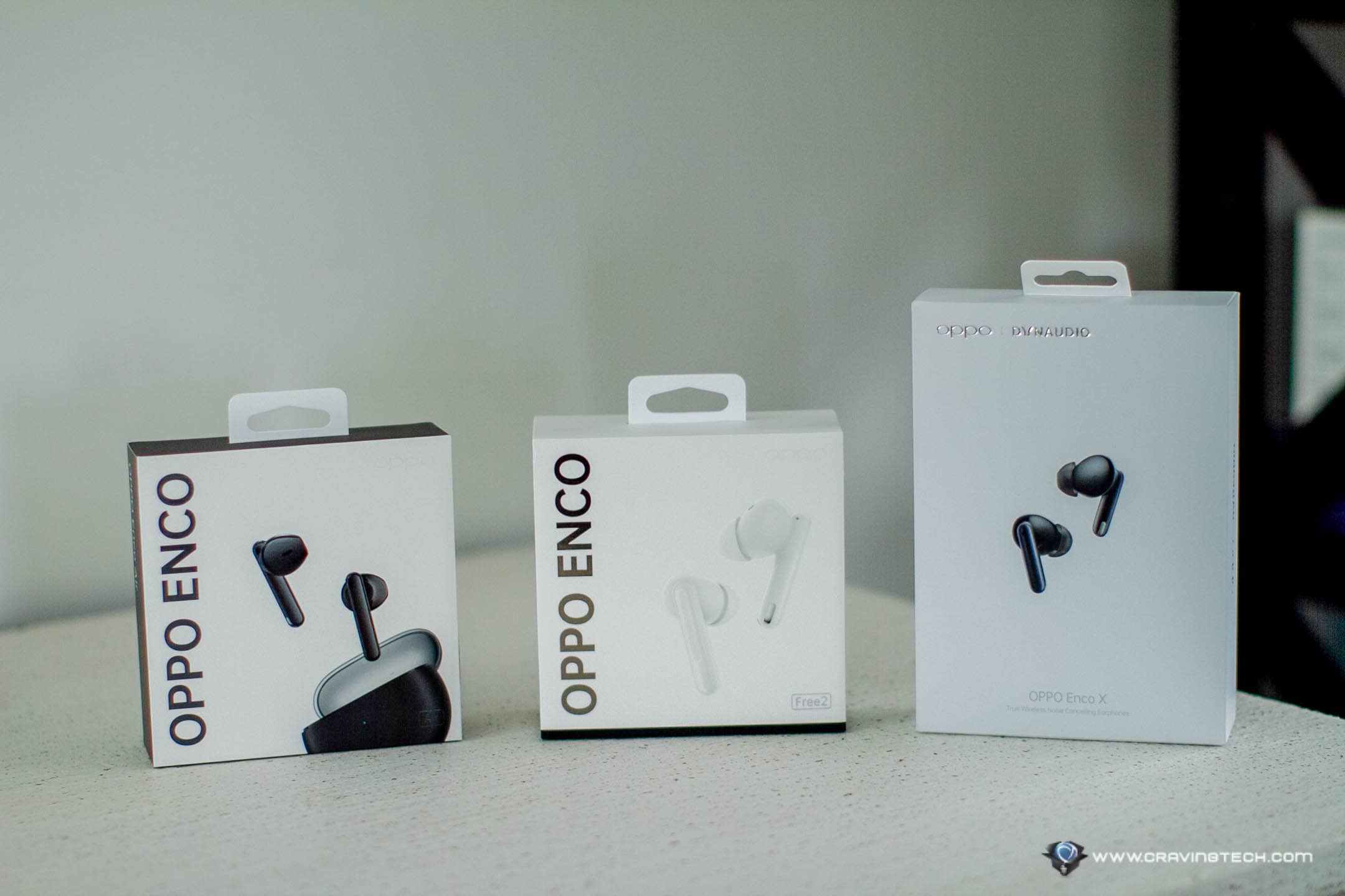OPPO's latest and greatest TWS earphones impressions – OPPO Enco Air, Enco Free2, and Enco X