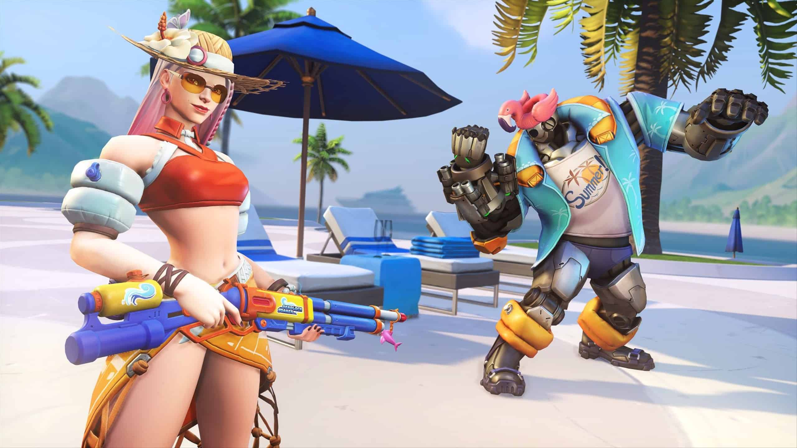 Overwatch Summer Games 2021 skins, emotes, and voicelines are here