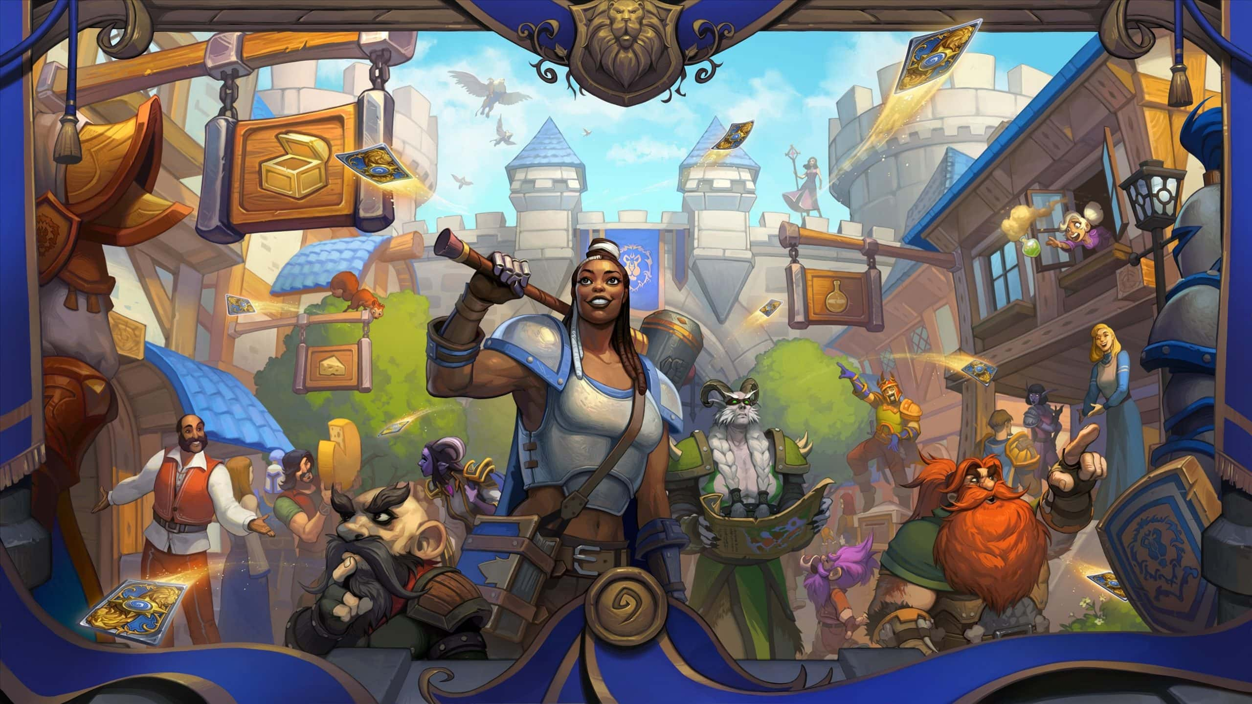 Hearthstone's United in Stormwind brings back Hero's quests and new concepts in gameplay