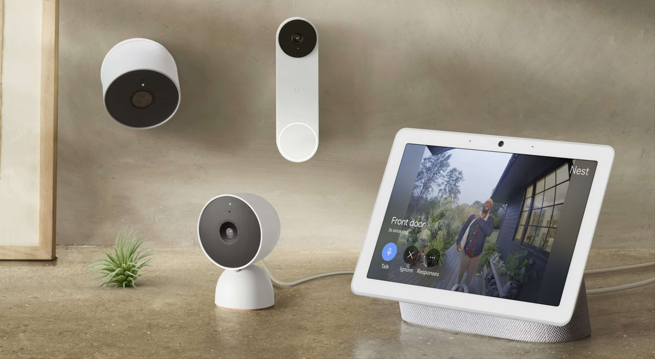 Google Nest new security cameras and doorbell are coming
