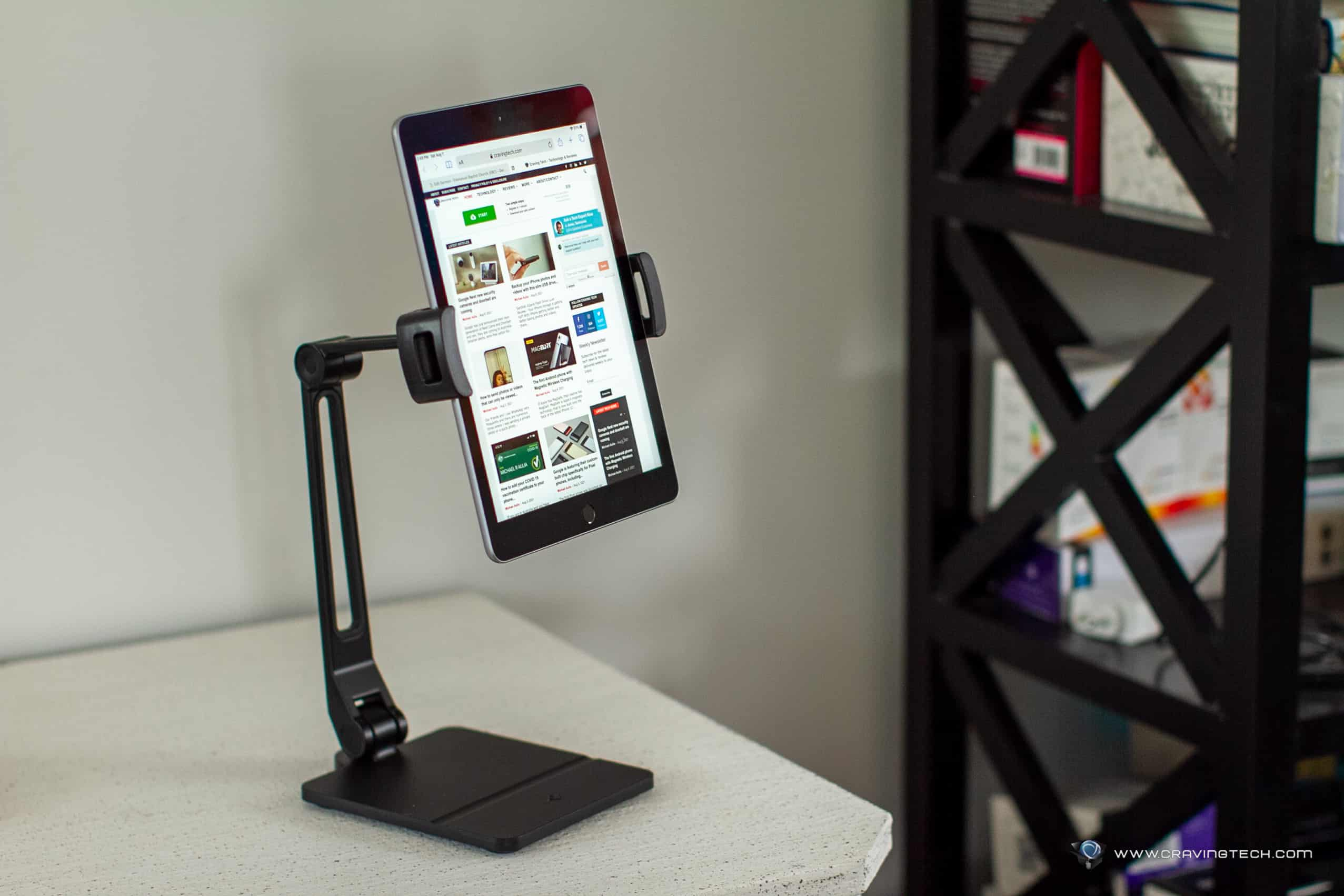 A sturdy yet flexible iPad stand – Twelve South HoverBar Duo Review