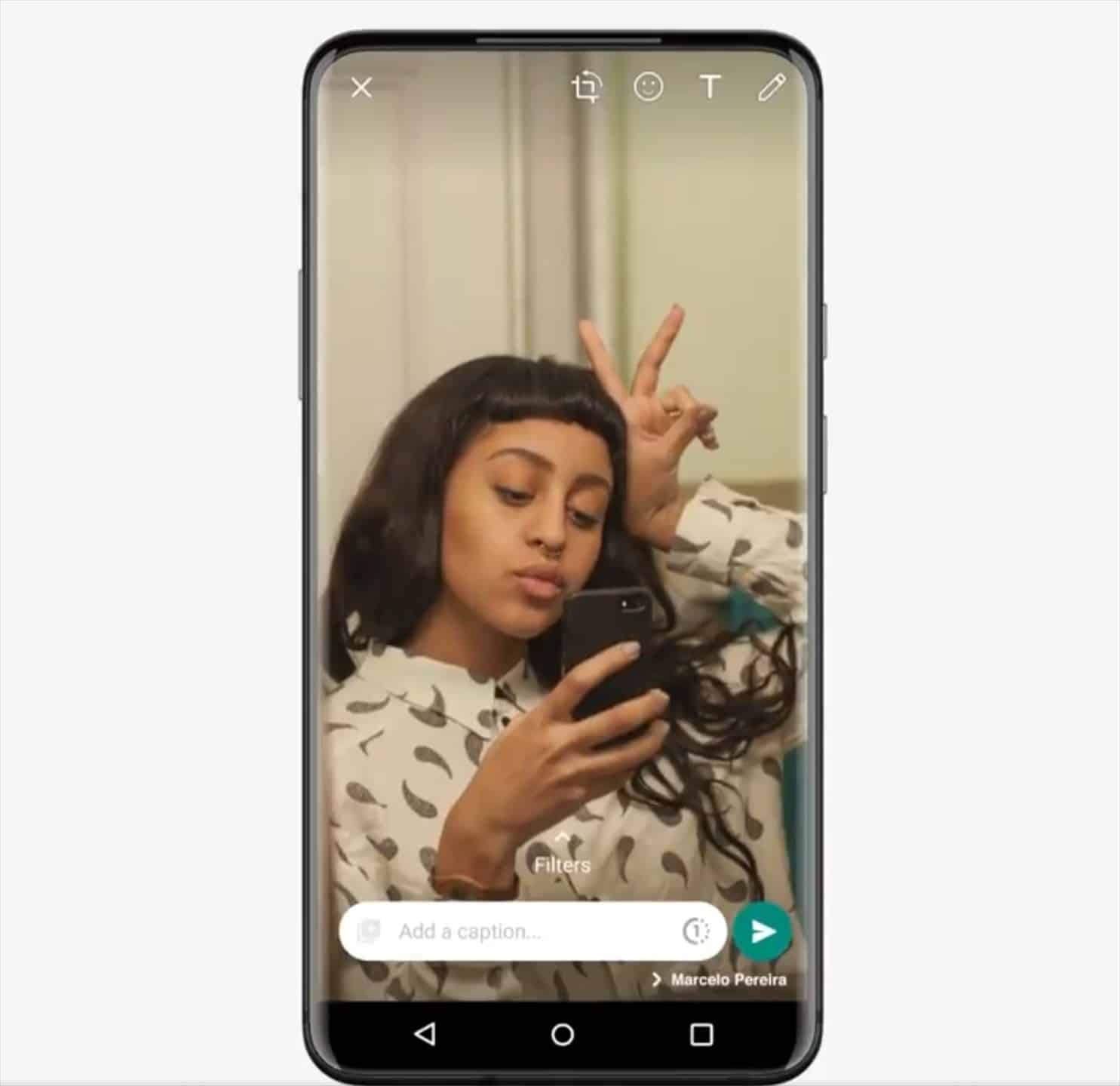 How to send photos or videos that can only be viewed once in WhatsApp