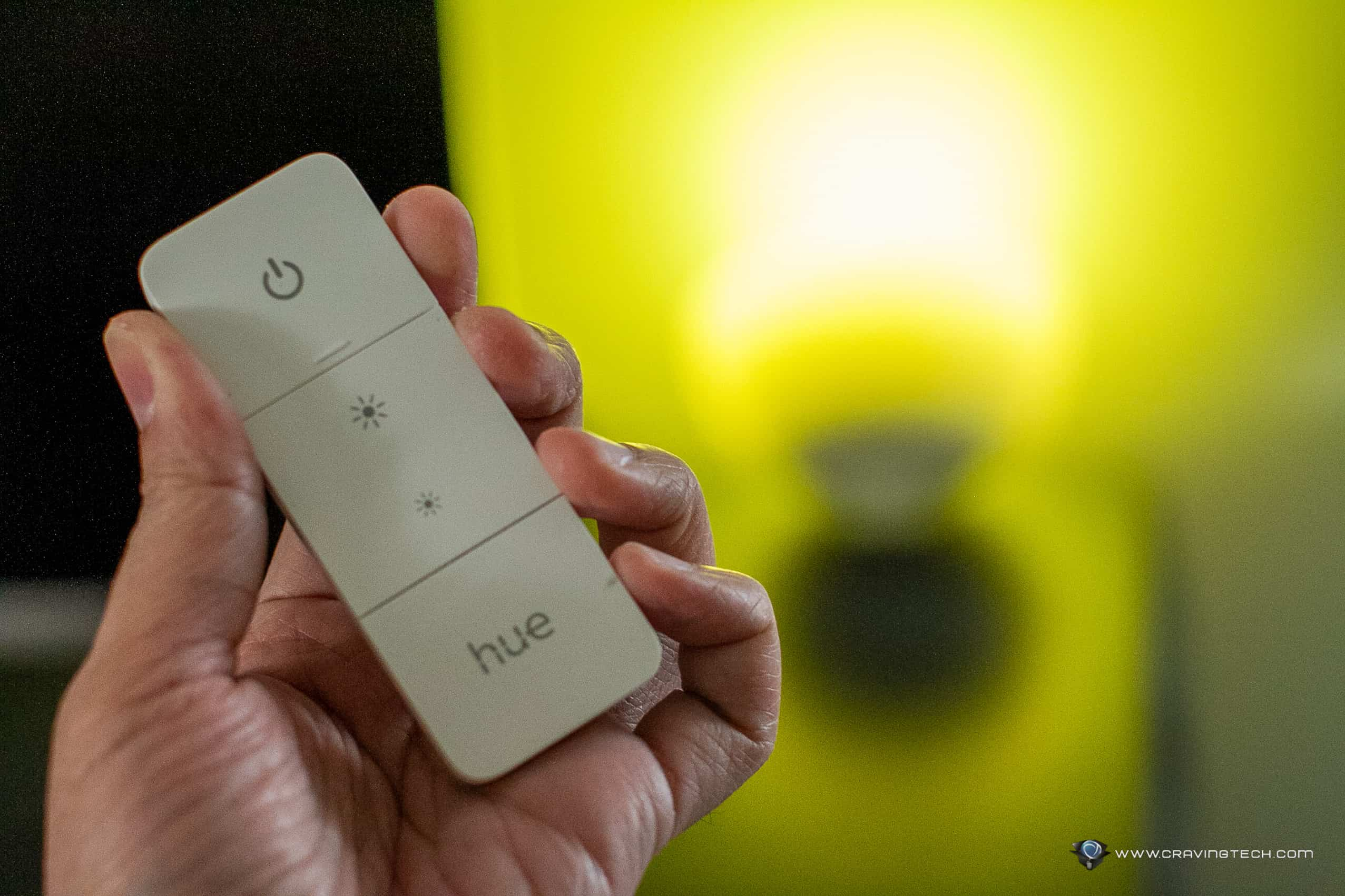A handy switch for your smart lights – Philips Hue Dimmer Switch Review