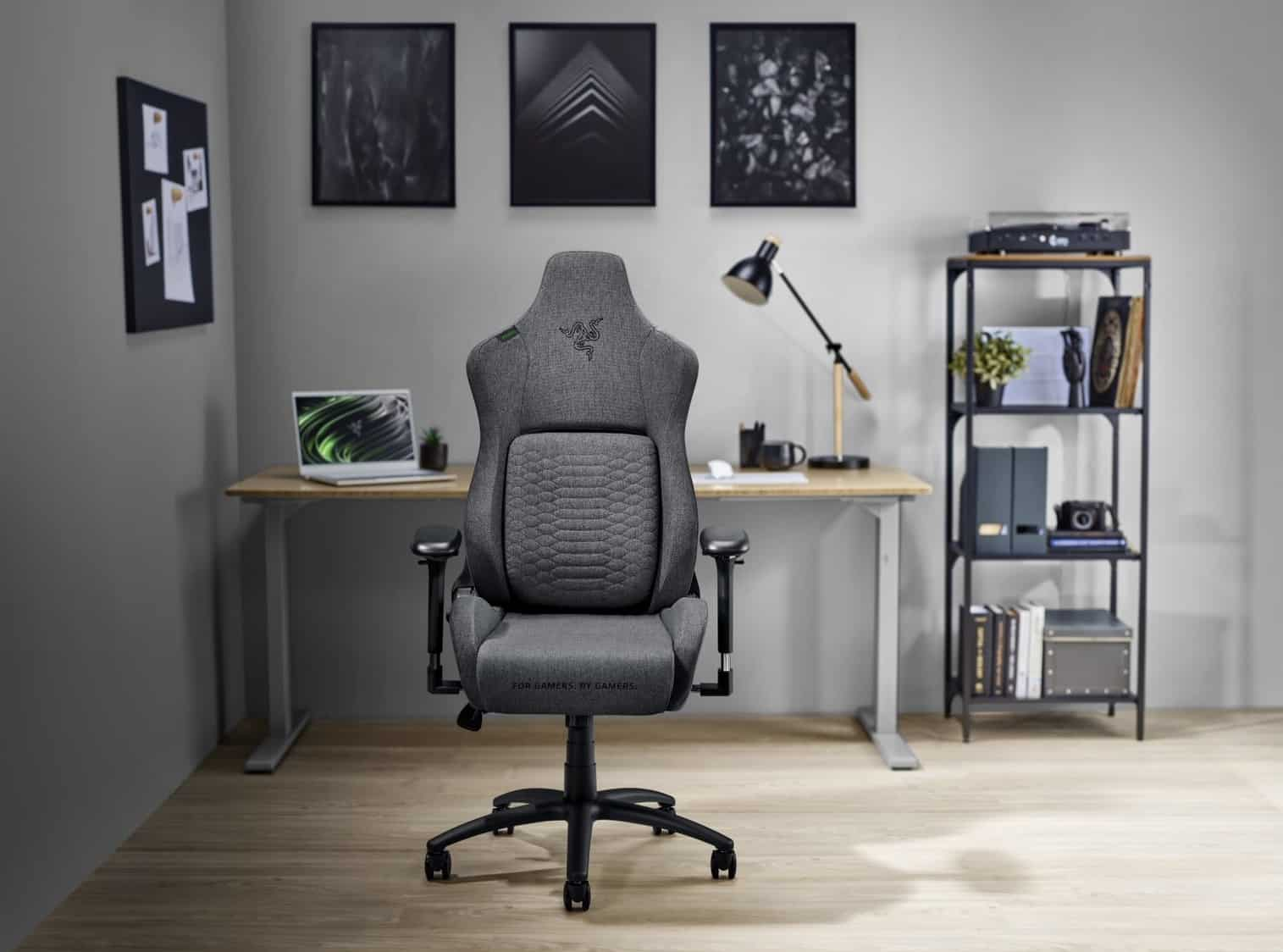 Razer Iskur gaming chair now comes in fabric!