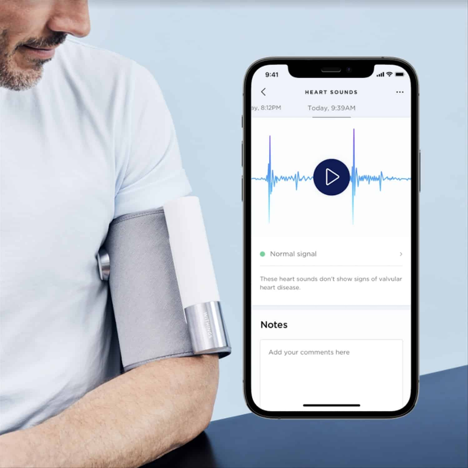 Withings just released the world's first blood pressure monitor with ECG and digital stethoscope