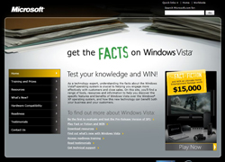 Win Prizes from Microsoft by answering a Windows Vista quiz!